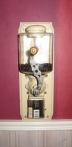 Kaffekvarn med glasbehållare